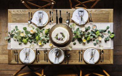 Jakie dekoracje na stół do jadalni?